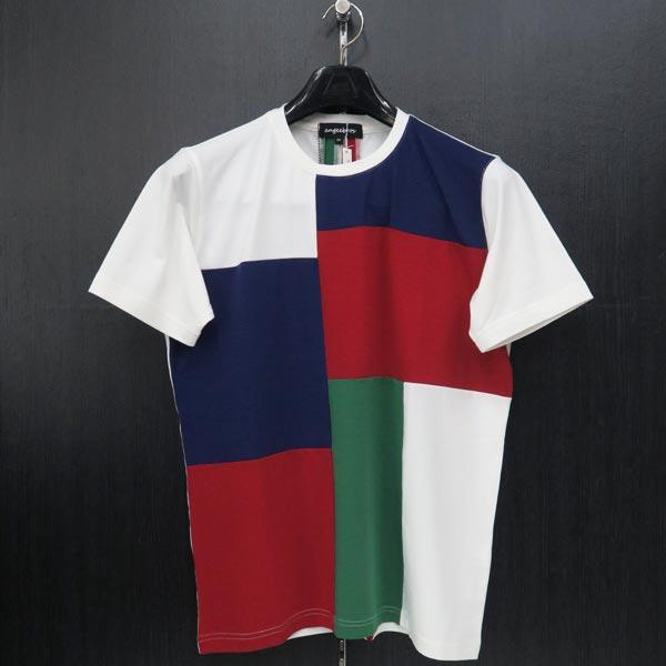 アンジーブロス 半袖Tシャツ 白 50(LLサイズ) 01-2504-02-01