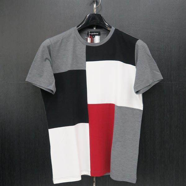 アンジーブロス 半袖Tシャツ グレー 50(LLサイズ) 01-2504-02-37