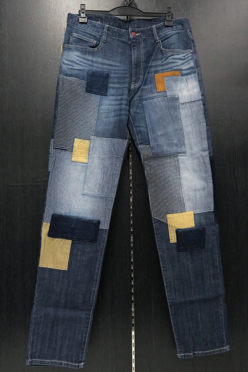 バラシブラック 5ポケットジーンズ インディゴ 88-95cm 3191-4093-53