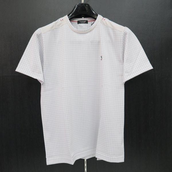 バラシ 半袖Tシャツ 白/グレー 48/50 L/LL 3250-2553-31 barassi