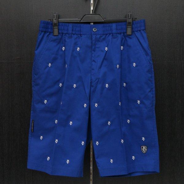 バーニヴァーノ ショートパンツ ブルー M-Lサイズ BSS-GPH2506-65 BARNI VARNO