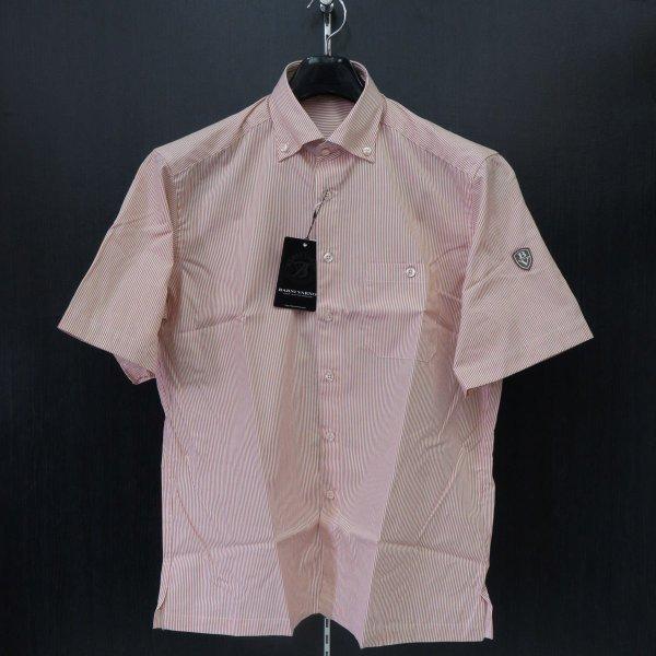 バーニヴァーノ 半袖ボタンダウンシャツ M-LL BYG-ESH315-32 BARNI VARNO
