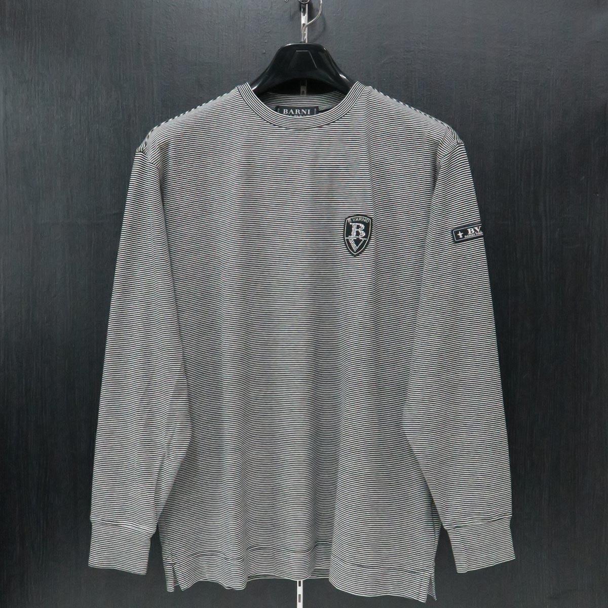 バーニヴァーノ 丸首Tシャツ Lサイズ BAW-IST3459-03