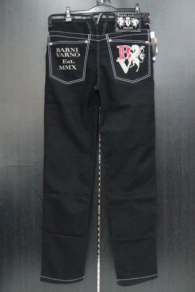 バーニヴァーノ デニムジーンズ 黒 82-95cm BSS-JJZ3690-09