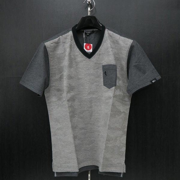 ビアネロ 半袖Tシャツ 50サイズ グレー 234-5571-14 夏物 BIANERO