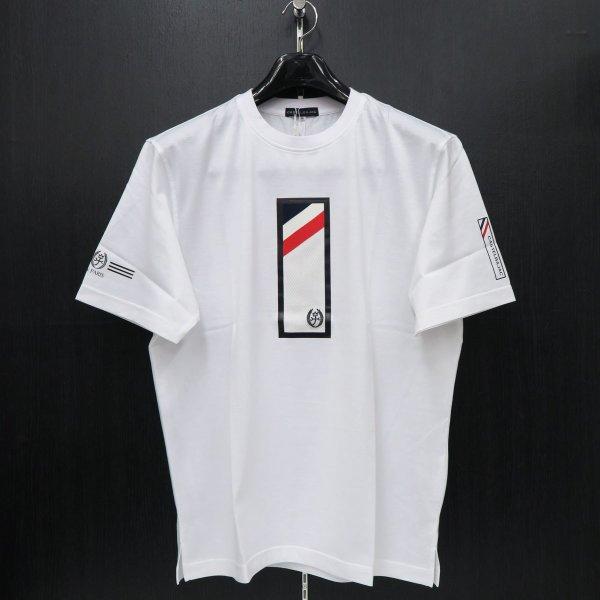 カステルバジャック 半袖Tシャツ 白 50サイズ 21770-115-01 castelbajac