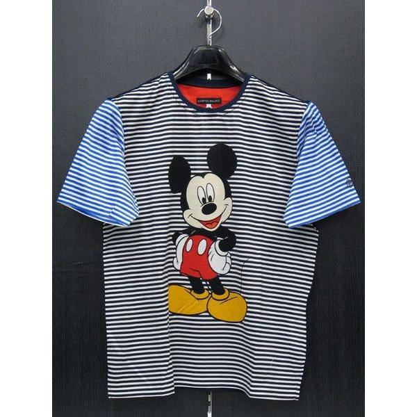 カステルバジャック ミッキーマウス半袖Tシャツ 7733-8651-11 castelbajac