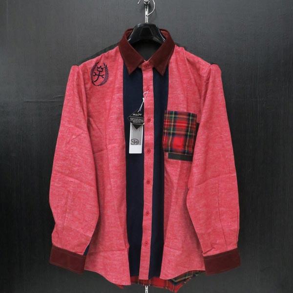 カステルバジャック 長袖シャツ 3Lサイズ(52) 21260-634-80
