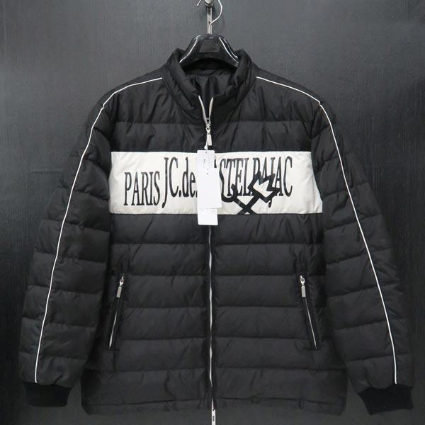 カステルバジャック ダウンジャケット 黒 50サイズ 21310-101-99