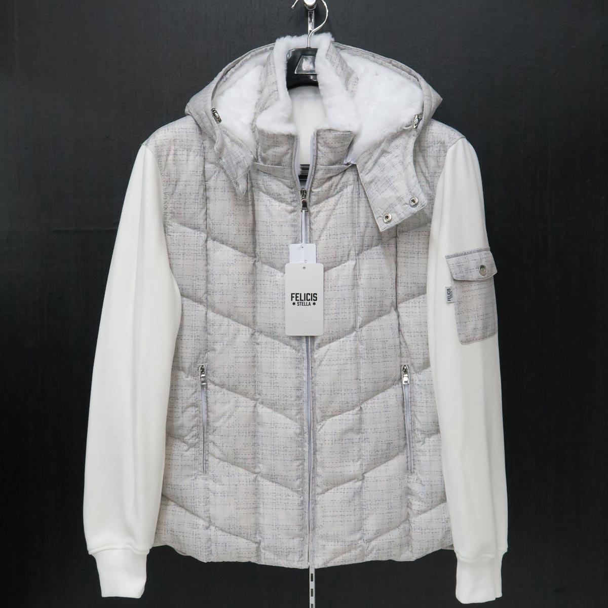 フェリシスステラ ダウンジャケット 白 50サイズ 316700-A17