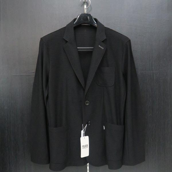 フェリシスステラ カジュアルジャケット 黒 50サイズ 424700-Z55