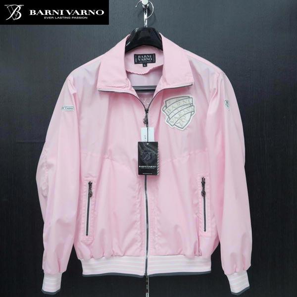 バーニヴァーノ ブルゾン ピンク Lサイズ BSS-IBS3290-42