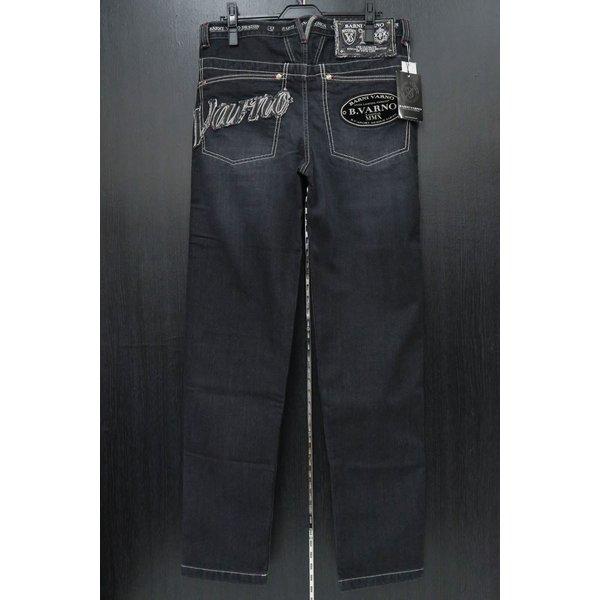 バーニヴァーノ 5ポケットストレッチデニムジーンズ 黒 82-100cm BAW-HJZ3044-09