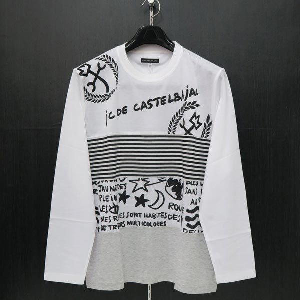 カステルバジャック 長袖Tシャツ 50サイズ 21070-138-01 春夏物