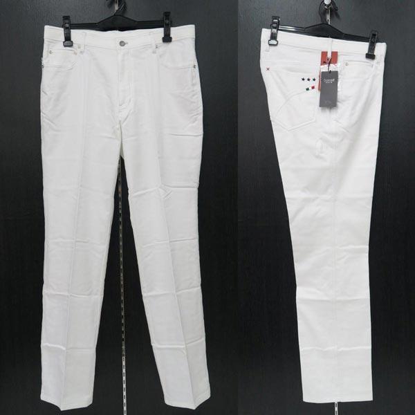 バラシ 5ポケットストレッチカジュアルパンツ 白 52(96-99cm) 2250-4901-10 barassi