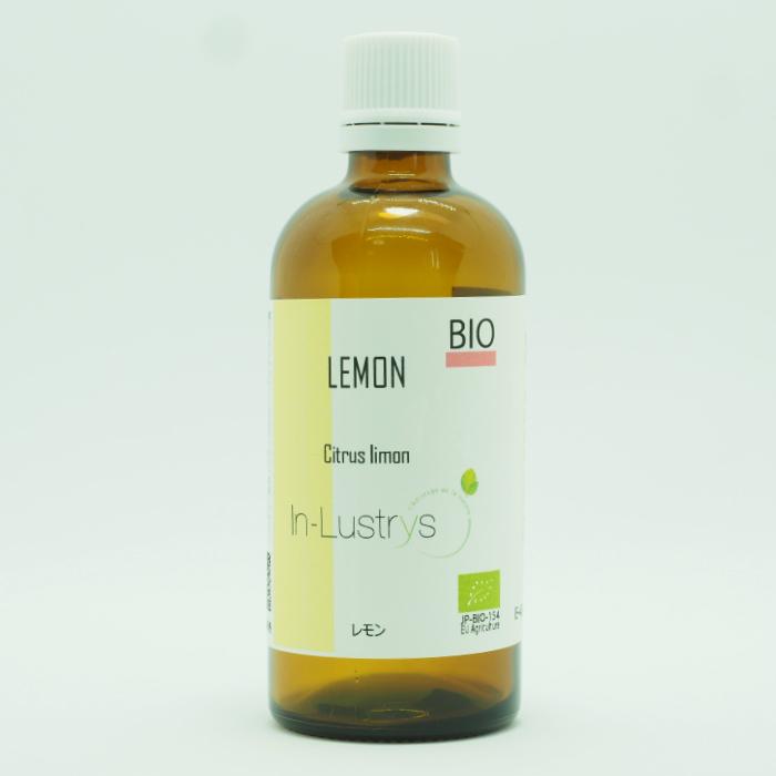 レモン 100ml 精油 アロマオイル《エコサートEU認証》インラストリーズ 業務用サイズ