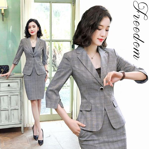 d44fb07996537 ビッグサイズ フォーマルスーツ OLスーツ リクルートスーツ 就活スーツ ビジネススーツ 女性用スーツ OL