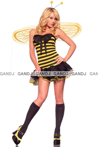 W freedom rakuten global market bee girl costume medium size bee girl costume medium size sale sale with the costume play sexy uniform clothes party sciox Choice Image