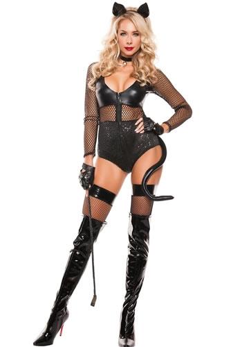 Sexy halloween cat costumes