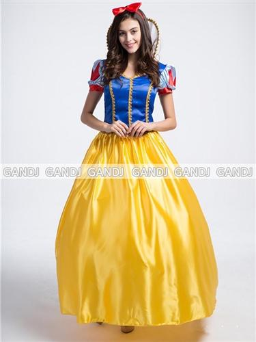 Snow White Princess Costume Costumes Character Costumes Halloween Disney ☆  Cute U0026 Elegant! Snow White Princess Dress Costume ☆ Freedom Sale