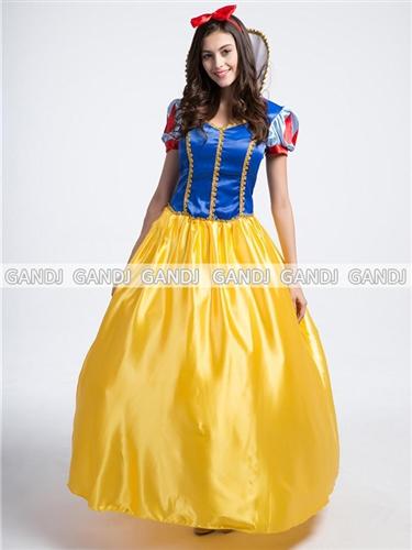 Snow White Princess Costume! ☆ Cute U0026 Elegant! Disney Snow White A Line  Dress Is!