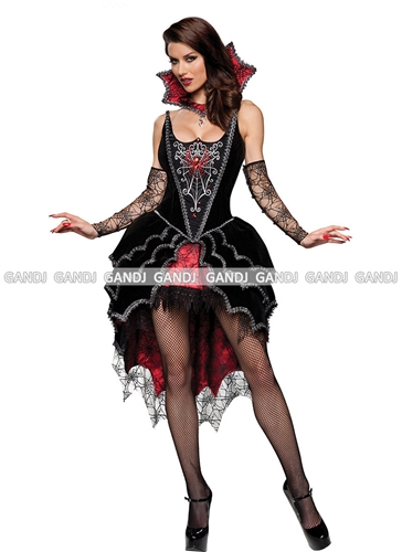 V&ire party costume! ? Gothic style in cool well I talk! It is also cool sexy v&ire Devil costume!  sc 1 st  Rakuten & w-freedom | Rakuten Global Market: Vampire Devil witch cosplay ...