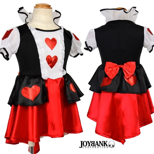 it is alice in wonderland that gave glory to a lot of heart of dazzling queen of hearts state service kids costume