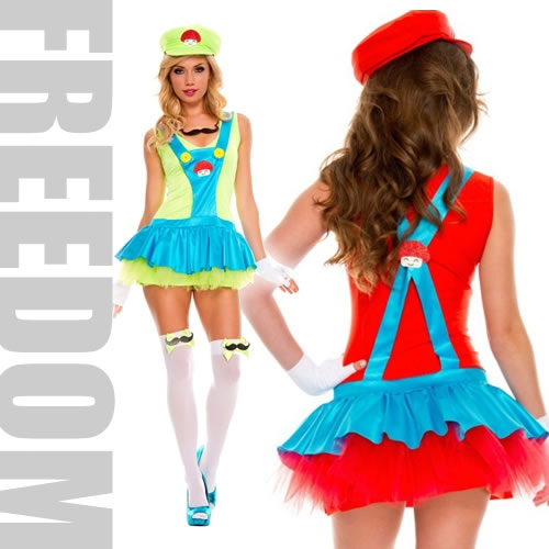 mario costume an extreme popularity size constant seller it is super mario of the cute supermini flare style mario luigi style costume