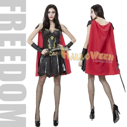 Ancient soldier costume! ?The sexy soldier of red mantle u0026 mini-style! It is Roman Empire woman soldier sexy costume?  sc 1 st  Rakuten & w-freedom   Rakuten Global Market: It is woman soldier sexy costume ...