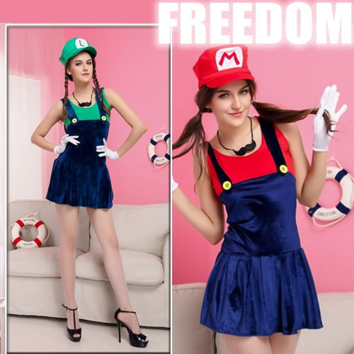 mario costume an extreme popularity size constant seller it is super mario of the cute mini style mario luigi style costume