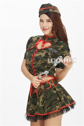 ??Costume play fashion?? Cute camouflage army Koss!  sc 1 st  Rakuten & w-freedom | Rakuten Global Market: Camouflage pattern army army girl ...