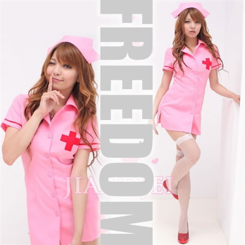 c8f6cd1fa7b8a □□Costume play fashion□□ Angel sexy nurse clothes of healing! ☆It is the  basic popular nurse costume set which cute sexy can dress well♪