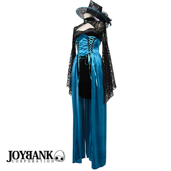 ?A Halloween constant seller! It is mysterious blue witch costume?  sc 1 st  Rakuten & w-freedom | Rakuten Global Market: Witch magician witch costume play ...