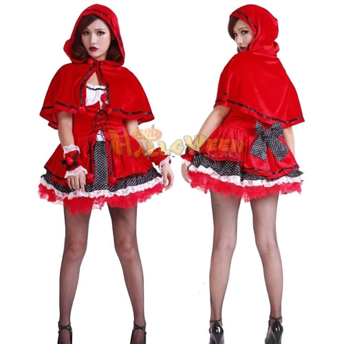 W Freedom Cute Little Red Riding Hood Costume Freedom Sale