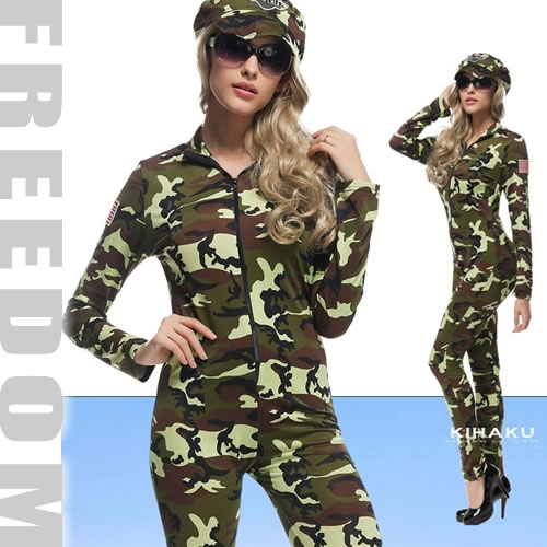 ??Costume play fashion?? Sexy camouflage army Koss!  sc 1 st  Rakuten & w-freedom | Rakuten Global Market: Camouflage pattern army military ...