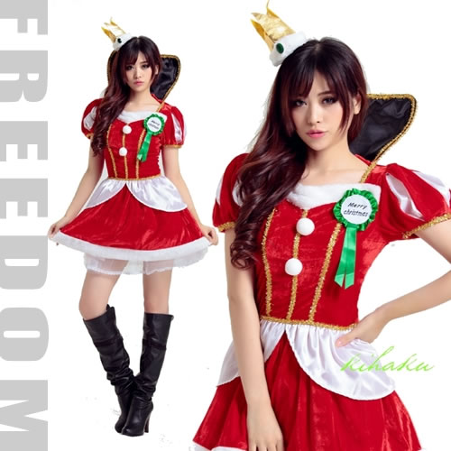 599f4cea2ed90 It Is The Queen Minidress Costume Of Christmas Santa Specifications To Be  Able To Dress Well Cutely Elegantly? Sc 1 St Rakuten