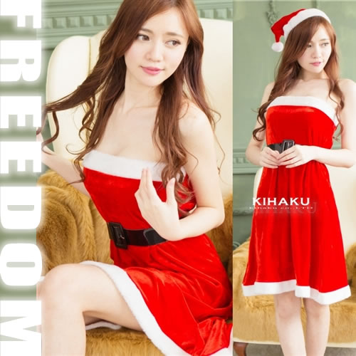 Christmas Santa costume! ?It is the Christmas Santa costume which cute sexy can dress well with a base-up dress?  sc 1 st  Rakuten & w-freedom | Rakuten Global Market: Christmas Santa Santa Koss Santa ...