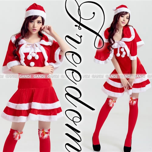 ??Costume play fashion?? Christmas Santa costume! ?It is Christmas Santa costume to be able to dress well with with popular cape cutely?  sc 1 st  Rakuten : ladies santa costume  - Germanpascual.Com