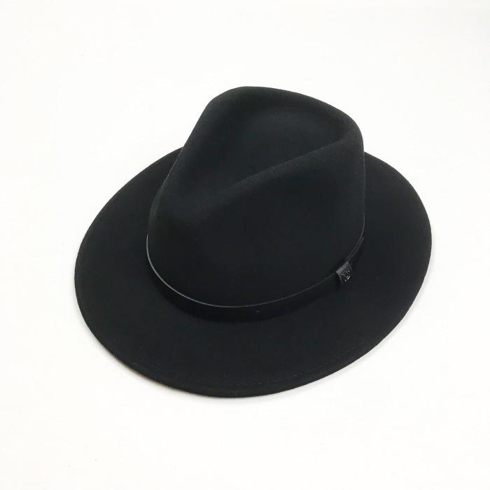BRIXTON / MESSER HAT BLACK(ブリクストン ハット)