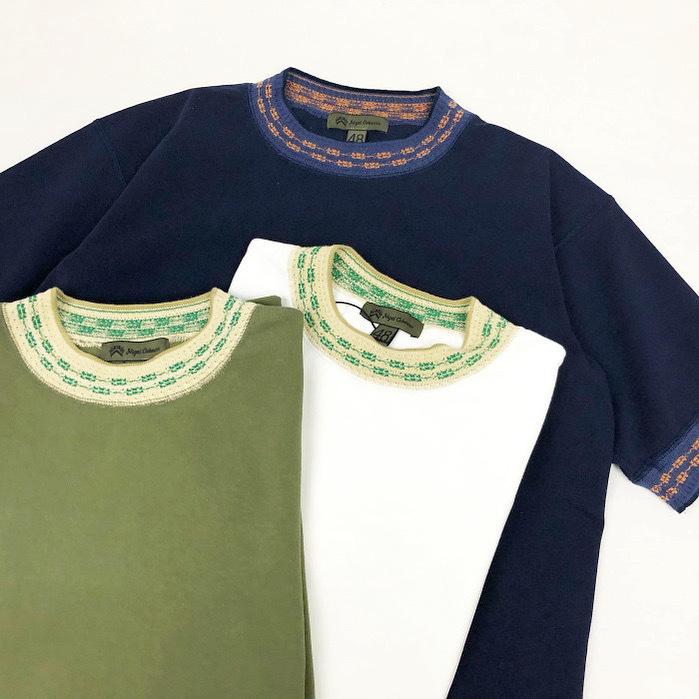 Nigel Cabourn / Jacquard T-Shirt (ナイジェルケーボン ジャガード Tシャツ)
