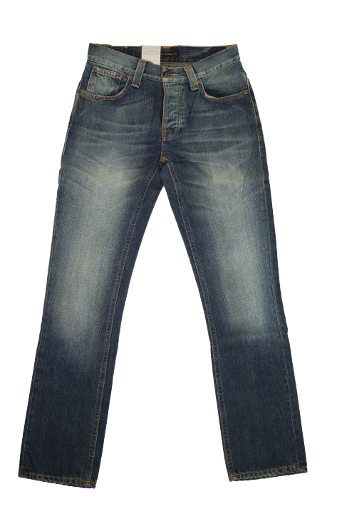 NUDIE JEANS / GRIM TIM ORG USED FAVOURITE ヌーディージーンズ グリムティム
