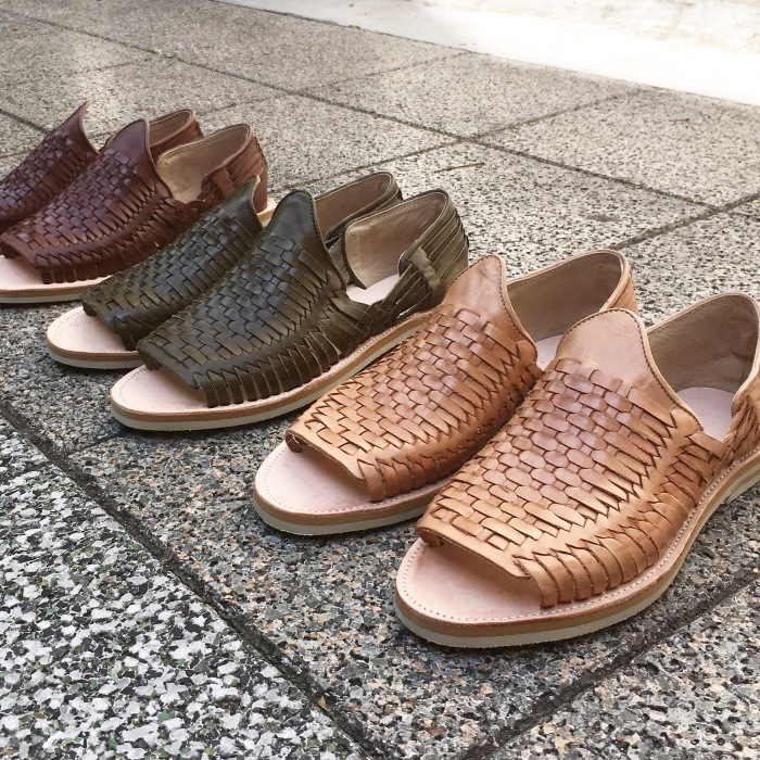 SOUTH BAY LEATHER / BRAIDED SANDALS(ワラチサンダル レザー)