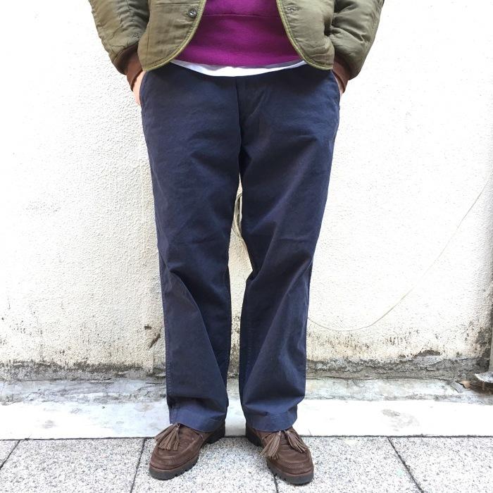 MASTER&CO. / Wide Chino Pants(マスターアンドコー ワイドチノパンツ)
