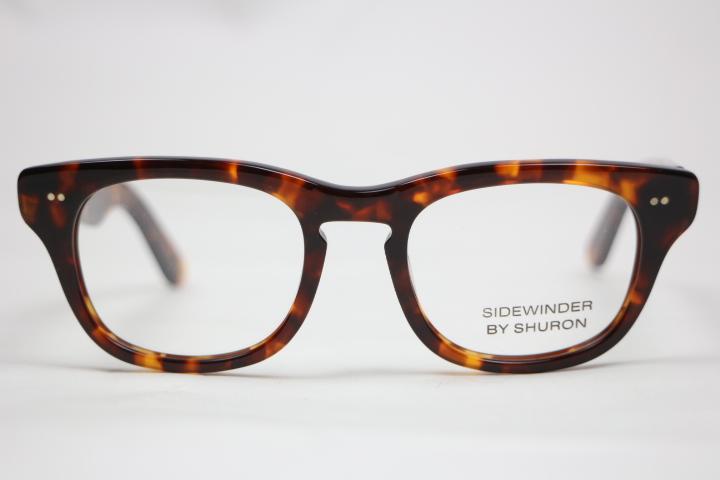 SHURON / SIDEWINDER DEMI AMBER/EBONY(シュロン サイドワインダー デミアンバー/エボニー)