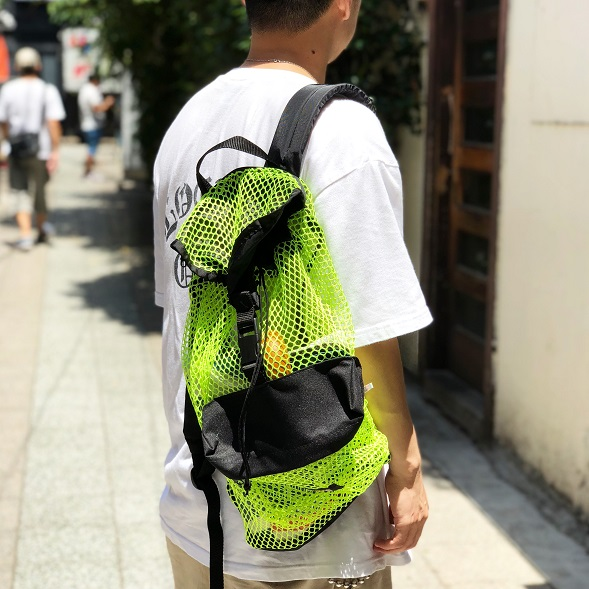 BAGS USA - made in USA -BACKPACK MESH(バッグス バックパック リュック メッシュ)