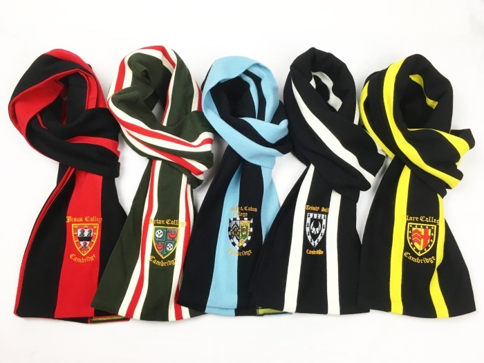 RYDER & AMIES / Cambridge College Scarves MADE IN ENGLAND(ライダー&エイミーズ スクールマフラー ケンブリッジ大学)