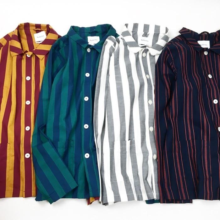 NUFFERTON / PAJAMA SHIRTS (ヌフェルトン パジャマシャツ)