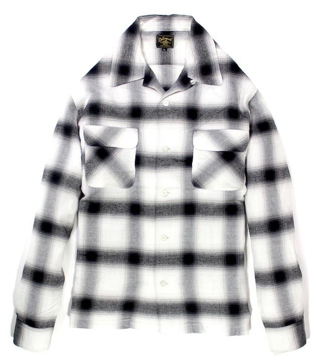 Delinquent Bros / SHADOW PLAID SHIRT デリンクエント シャドーチェックシャツ