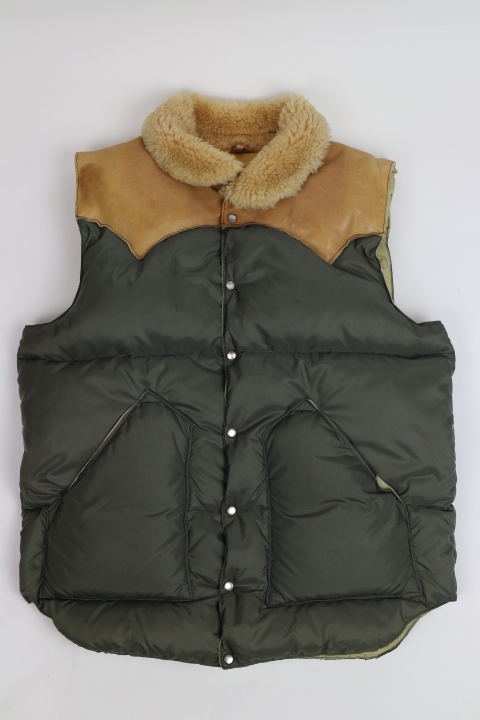 Vintage Rocky Mountain Featherbed(ロッキーマウンテン ダウンベスト クリスティ アメリカ直輸入)