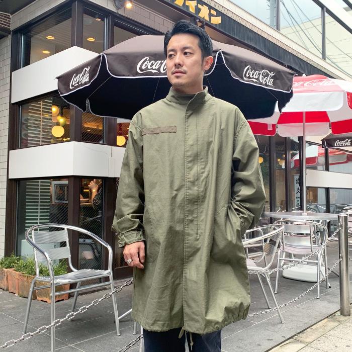 Audience / Back Satin Stretch Mod Coat (モッズコート)